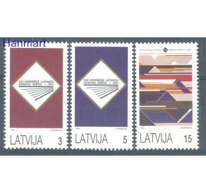 Łotwa 1993 Mi 357-359 Czyste **