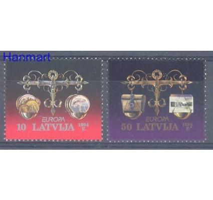 Znaczek Łotwa 1994 Mi 376-377 Czyste **