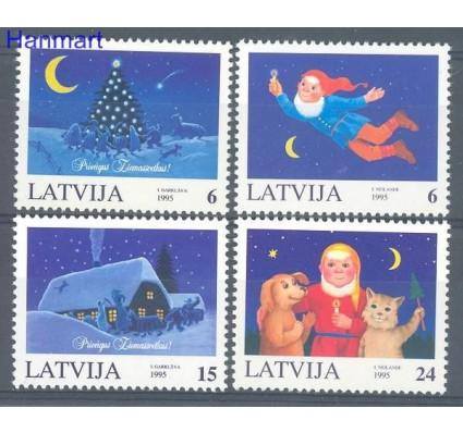 Znaczek Łotwa 1995 Mi 416-419 Czyste **