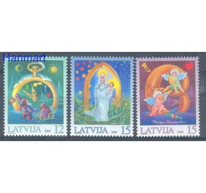 Znaczek Łotwa 2000 Mi 535-537 Czyste **