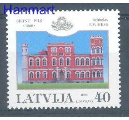 Znaczek Łotwa 2003 Mi 597 Czyste **