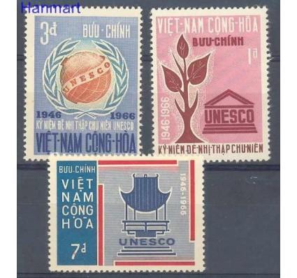 Znaczek Wietnam Południowy 1966 Mi 375-377 Czyste **