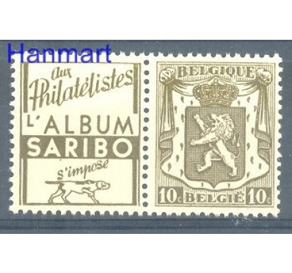 Znaczek Belgia 1936 Mi V74 Czyste **