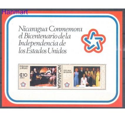 Nikaragua 1976 Mi bl 93 Czyste **