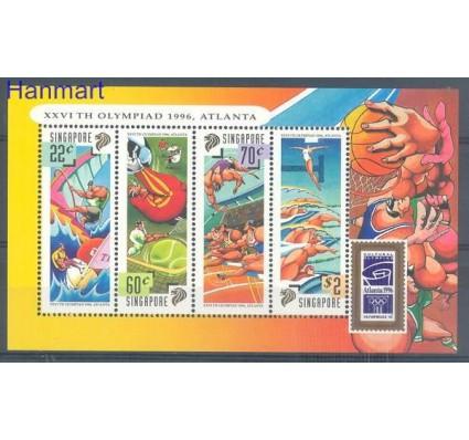 Znaczek Singapur 1996 Mi bl 51 Czyste **