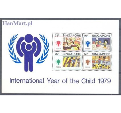 Znaczek Singapur 1979 Mi bl 11 Czyste **