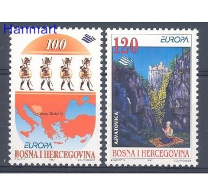 Bośnia i Hercegowina 1997 Mi 85-86 Czyste **