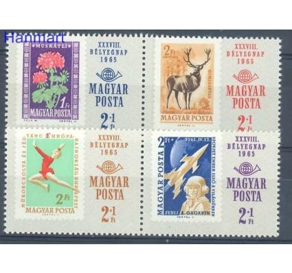 Znaczek Węgry 1965 Mi 2175-2178 Czyste **