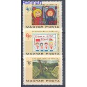 Węgry 1968 Mi 2460-2462 Czyste **