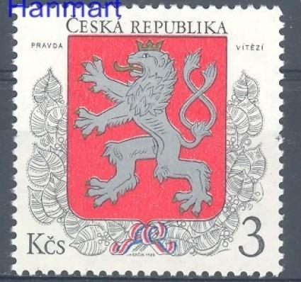 Znaczek Czechy 1993 Mi 1 Czyste **