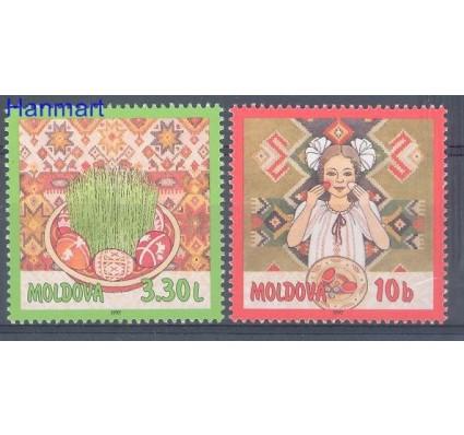 Znaczek Mołdawia 1997 Mi 233-234 Czyste **