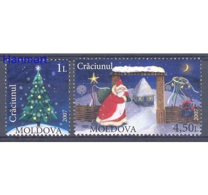 Znaczek Mołdawia 2007 Mi 602-603 Czyste **