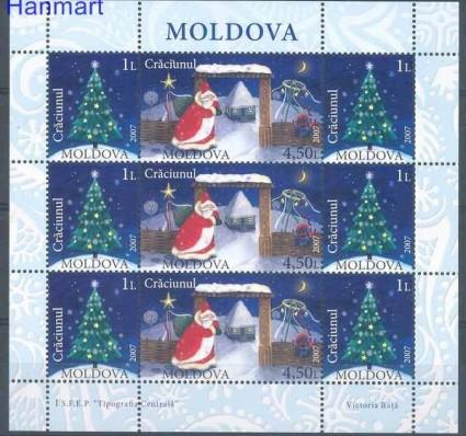 Znaczek Mołdawia 2007 Mi ark 602-603 Czyste **