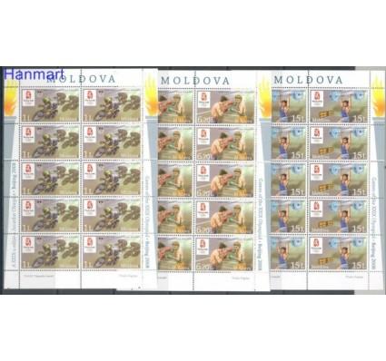 Mołdawia 2008 Mi ark 608-610 Czyste **