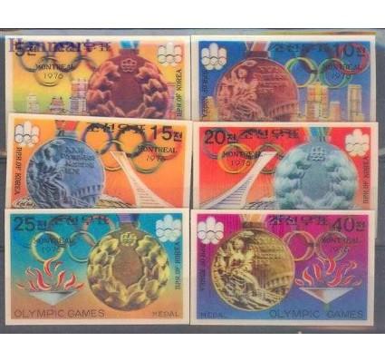 Znaczek Korea Południowa 1976 Mi 1583-1588 Czyste **
