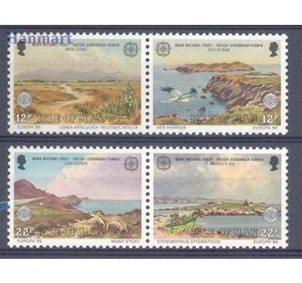 Znaczek Wyspa Man 1986 Mi 307-310 Czyste **