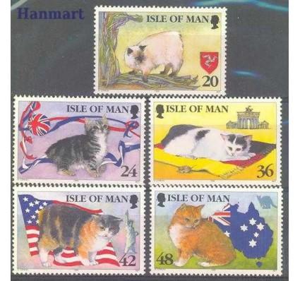 Wyspa Man 1996 Mi 668-672 Czyste **