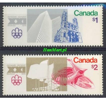 Znaczek Kanada 1976 Mi 624-625 Czyste **