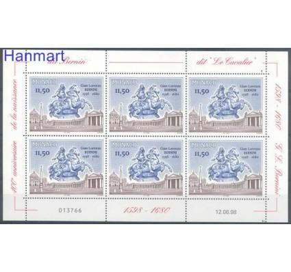 Znaczek Monako 1998 Mi ark 2426 Czyste **