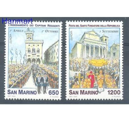 Znaczek San Marino 1998 Mi 1774-1775 Czyste **
