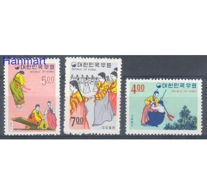 Korea Południowa 1967 Mi 590-592 Czyste **