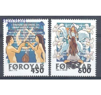 Znaczek Wyspy Owcze 1999 Mi 366-367 Czyste **
