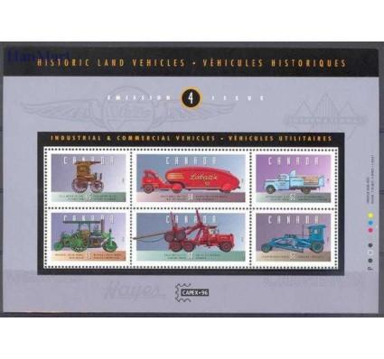 Kanada 1996 Mi bl 17 Czyste **