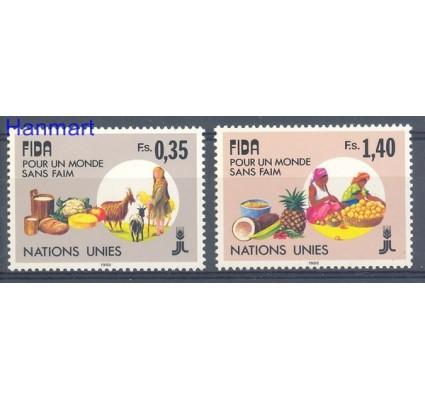 Znaczek Narody Zjednoczone Genewa 1988 Mi 162-163 Czyste **