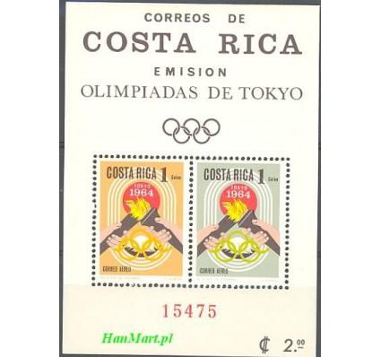 Kostaryka 1965 Mi bl 7 Czyste **