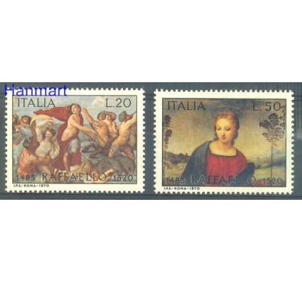 Znaczek Włochy 1970 Mi 1305-1306 Czyste **
