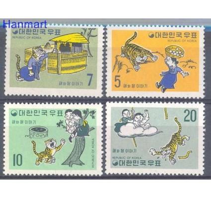 Znaczek Korea Południowa 1970 Mi 696-699 Czyste **