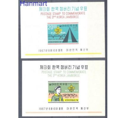 Korea Południowa 1967 Mi bl 258-259 Czyste **