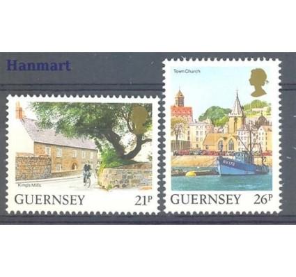Znaczek Guernsey 1991 Mi 516-517 Czyste **