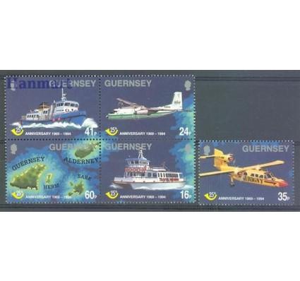 Znaczek Guernsey 1994 Mi 645-649 Czyste **