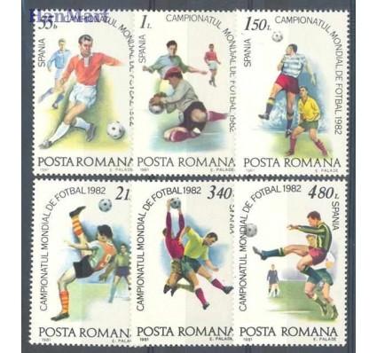Znaczek Rumunia 1981 Mi 3837-3842 Czyste **
