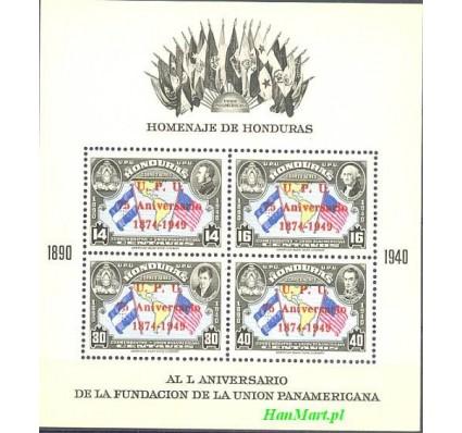 Znaczek Honduras 1951 Mi bl 3 Czyste **