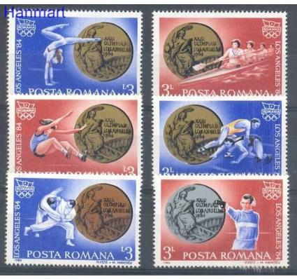 Znaczek Rumunia 1984 Mi 4089-4094 Czyste **