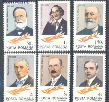 Rumunia 1985 Mi 4124-4129 Czyste **