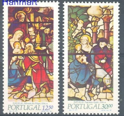 Znaczek Portugalia 1983 Mi 1615-1616 Czyste **