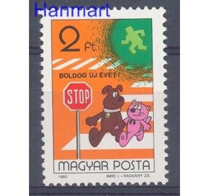 Znaczek Węgry 1982 Mi 3594 Czyste **