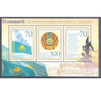 Znaczek Kazachstan 2005 Mi bl 35 Czyste **