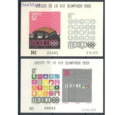 Meksyk 1968 Mi 16-18 Czyste **