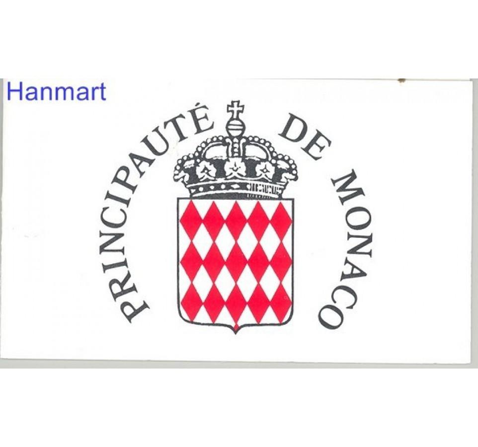 Monako 1989 Mi mh 3 Czyste **