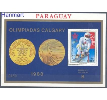 Znaczek Paragwaj 1988 Mi bl 453 Czyste **