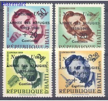 Znaczek Haiti 1959 Mi 576-579 Czyste **