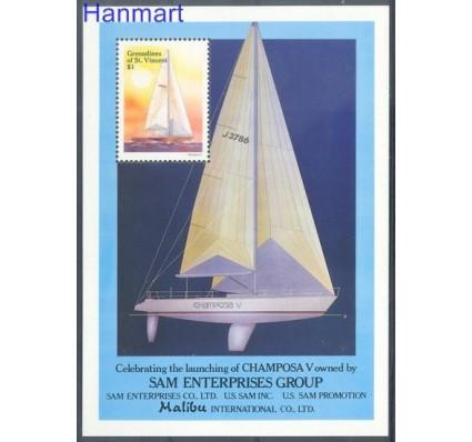Znaczek Grenadines of St Vincent 1988 Mi bl 31 Czyste **