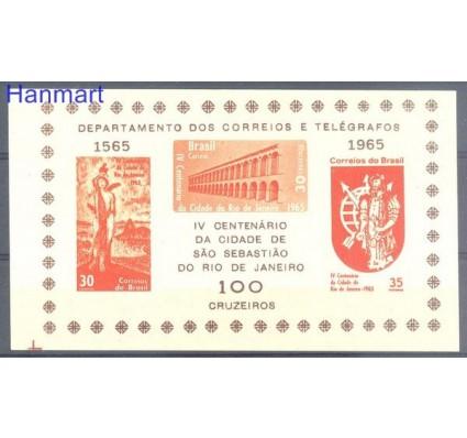 Brazylia 1965 Mi bl 14 Czyste **