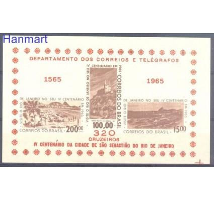 Znaczek Brazylia 1965 Mi bl 15 Czyste **