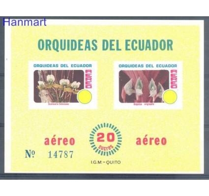 Ekwador 1980 Mi bl 101 Czyste **