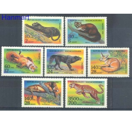 Znaczek Madagaskar 1994 Mi 1701-1707 Czyste **